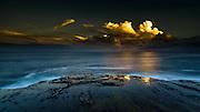 Man on the edge - Eastern Australian Coastline between Gerringong and Kiama, Australia