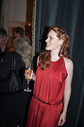 CLARE FOSTER, The press night performance of the Menier Chocolate Factory's 'Merrily We Roll Along', following its transfer to the Harold Pinter Theatre, After-show party at Grace Restaurant, Gt. Windmill St. London. 1 May 2013.