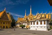 The Royal Palace in Phnom Penh.