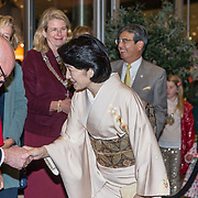 NLD/Den Haag/20181024 - Prinses Akishino en prinses Margriet openen 49th Union World Conference on Lung Health, Prinses Akishino