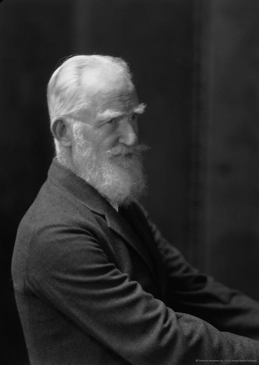 George Bernard Shaw, Irish Writer and Playwright, 1930