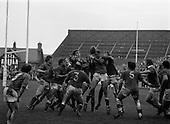 1977 - Rugby International: Ireland v France at Landsdowne Road, Dublin.
