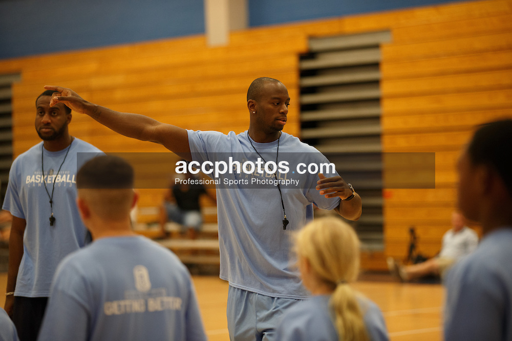 03 August 2013: Marcus Ginyard camp in Jacksonville, NC.