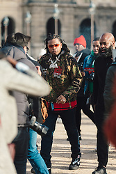 Street Style, Gunna arriving at Off-White Menswear Fall Winter 2019 ready-to-wear show, held at Paris Fashion Week, on January 16th, 2019. Photo by Mila Belrose/ABACAPRESS.COM