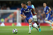 Eden Hazard of Chelsea in action. Premier league match, Chelsea v West Ham United at Stamford Bridge in London on Monday 15th August 2016.<br /> pic by John Patrick Fletcher, Andrew Orchard sports photography.