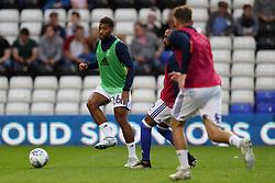 Birmingham City's David Davis during the pre match warm up