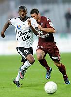 Fotball<br /> Frankrike<br /> Foto: DPPI/Digitalsport<br /> NORWAY ONLY<br /> <br /> FOOTBALL - FRENCH CHAMPIONSHIP 2009/2010 - L2 - VANNES OC v FC METZ - 7/08/2009 <br /> <br /> ABDOUL RAZZAGUI CAMARA (VAN)