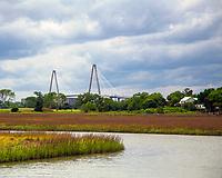 Arthur Ravenel Jr. Bridge and Salt Marshes, Mount Pleasant, South Carolina photo by Catherine Brown