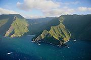 Pelekunu Valley, Molokai, Hawaii