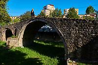 Albanie, Tirana, le pont des tanneurs // Albania, Tirana, Tanners Bridge