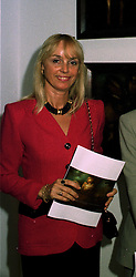 MME.MARIE GODEC wife of the chairman of Elf at a party in London on 9th June 1997.LZE 9 WOLO