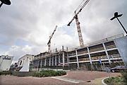 Nederland, Nijmegen,4-3-2020  Het UMCRadboud is fasegewijs haar oude gebouwen aan het vervangen . Foto: Flip Franssen