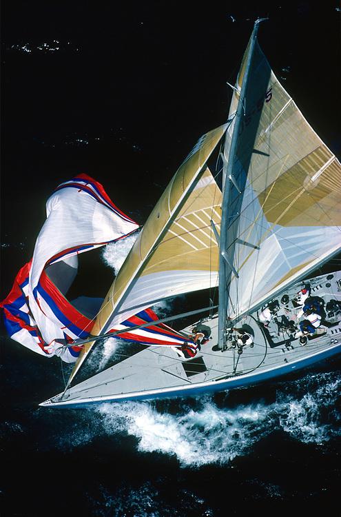 STARS & STRIPES<br /> Winner America's Cup 1987 <br /> Helmsman Dennis Conner<br /> © Daniel Forster
