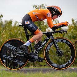 24-09-2020: wielrennen: WK tijdrit vrouwen: Imola<br /> Anna van der Breggen (Netherlands)