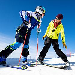 20200518: SLO, Alpine Skiing - Training session of Meta Hrovat and Ilka Stuhec on Kanin