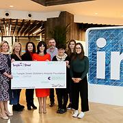 7.10.2019 Temple Street Foundation Linkedin donation
