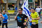 Jerusalem Marathon Lauf, Jerusalem, Israel.|.Jerusalem Marathon, Israel.