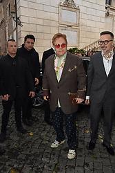 Rome, Piazza Del Campidoglio Event Gucci Parade at the Capitoline Museums, In the picture: Elton John