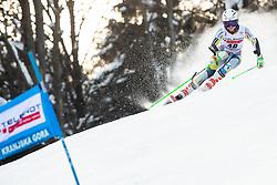 Kristin Lysdahl (NOR) during Ladies' Giant Slalom at 57th Golden Fox event at Audi FIS Ski World Cup 2020/21, on January 17, 2021 in Podkoren, Kranjska Gora, Slovenia. Photo by Vid Ponikvar / Sportida