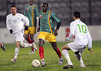Fotball<br /> 20.11.2007<br /> Algerie v Mali<br /> Foto: Dppi/Digitalsport<br /> NORWAY ONLY<br /> <br /> FOOTBALL - FRIENDLY GAMES 2007/2008 - ALGERIA v MALI - 20/11/2007 - DRISSA DIAKITE  (MALI) / RAFIK SAIFI (ALG)