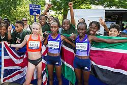UAE Healthy Kidney 10K, top three female finishers, Cherono, Chepkurui, Steel