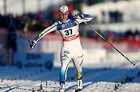 Ski , FIS  World Cup presented by Viessmann<br /> Lillehammer , Norway, 10 km C-Ladies<br /> 07.12.13<br /> Foto: Dagfinn Limoseth, Digitalsport<br /> Britta Nordgren Johansson , SWE