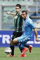 gol Fabio Quagliarella-Federico Peluso<br /> Reggio Emilia 19-04-2015 Mapei Stadium, Football /Campionato di calcio serie A / Sassuolo-Torino / Foto Image Sport / Insidefoto
