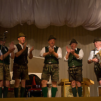 An Austrian music troupe performs at Hotel Ulaanbaatar in Mongolia during a cultural exchange.