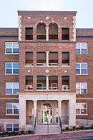 Washington DC apartment building exterior