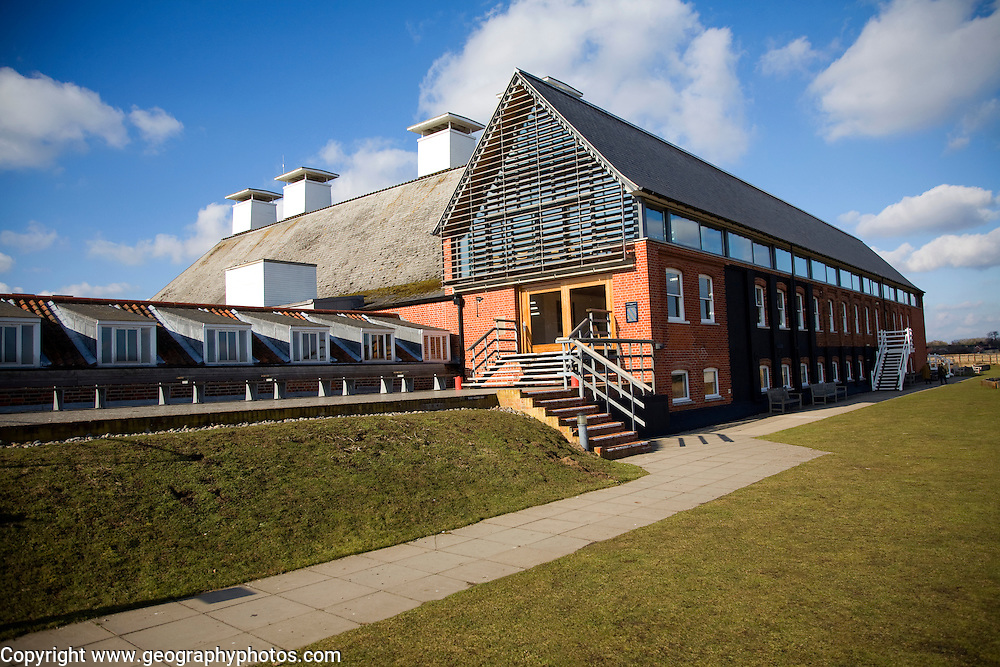 Concert Hall in converted maltings industrial buildings at Snape, Suffolk, England