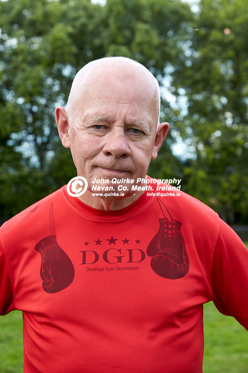 04-08-21, Garda youth diversion Soccer Initiative project at Our Lady of Mercy school, Kells.<br /> Kevin Dowling -  of the well known Irish boxing family pictured at the event<br /> Photo: David Mullen / www.quirke.ie ©John Quirke Photography, Proudstown Road Navan. Co. Meath. 046-9079044 / 087-2579454.<br /> ISO: 400; Shutter: 1/250; Aperture: 6.3;