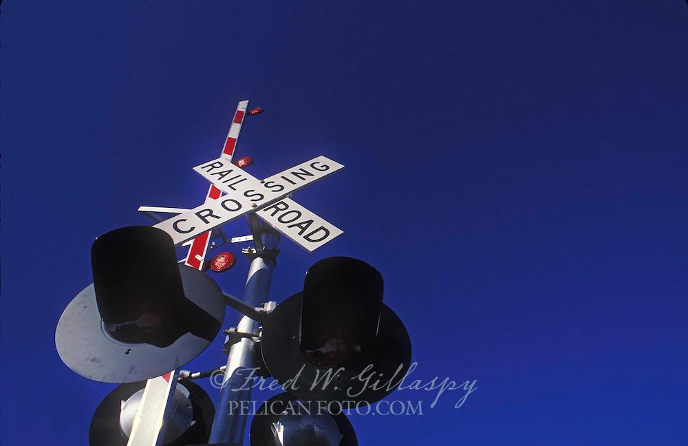 Railroad Crossing Signal, Napa Valley, CA