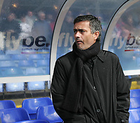 Photo: Lee Earle.<br /> Birmingham City v Chelsea. The Barclays Premiership. 01/04/2006. Chelsea manager Jose Mourinho.