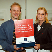 de Hypotheker Clinge Bussum dhr van der Hoeven en secretaresse
