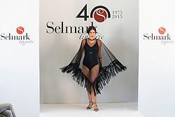 15.10.2015, Circulo de Bellas Artes, Madrid, ESP, Senmark Jubiläums Fashion Show, im Bild Mireia Canalda // during the Senmark 40th. Aniversary Fashion Show at the Circulo de Bellas Artes in Madrid, Spain on 2015/10/15. EXPA Pictures © 2015, PhotoCredit: EXPA/ Alterphotos/ BorjaB.hojas<br /> <br /> *****ATTENTION - OUT of ESP, SUI*****