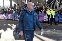 Scotland coach Gregor Townsend arrives for the Guinness Six Nations match at BT Murrayfield Stadium, Edinburgh.