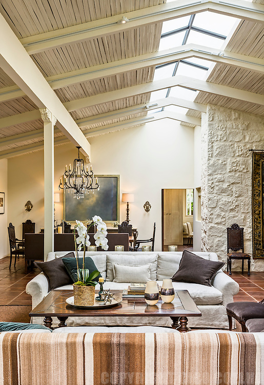 Montecito Estate. Originally designed by Cliff May, this residence was reconceptualized by Micholyn Brown – Santa Barbara Style.