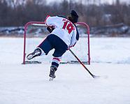 2021-01-30 Lake Gibson Hockey