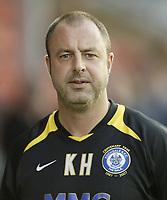 Photo: Aidan Ellis.<br /> Rochdale v Norwich City. Carling Cup. 28/08/2007.<br /> Rochdale manager Keith Hill