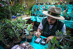 Estande da agricultura familiar na 38ª Expointer, que ocorrerá entre 29 de agosto e 06 de setembro de 2015 no Parque de Exposições Assis Brasil, em Esteio. FOTO: Pedro Tesch/ Agência Preview