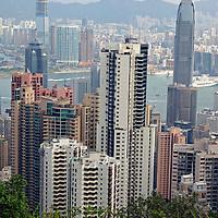 Asia, China, Hong Kong. Cityscape of Hong Kong.