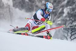 Loic Meillard (SUI) during 1st run of Men's Slalom race of FIS Alpine Ski World Cup 57th Vitranc Cup 2018, on March 4, 2018 in Kranjska Gora, Slovenia. Photo by Ziga Zupan / Sportida