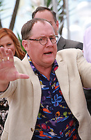 John Lasseter, Inside Out film photo call at the 68th Cannes Film Festival Monday May 18th 2015, Cannes, France.