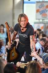 Keith Urban performing on NBC's Today Show - 27 July 2018