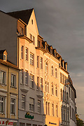 Architecture detail in Trier, Germany.
