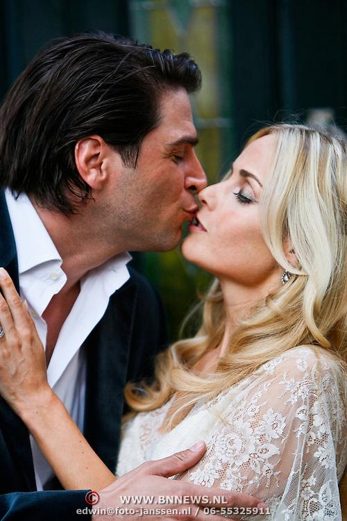 NLD/Amstelveen/20100701 - Huwelijk Xander de Buisonje en Sophie Steger,