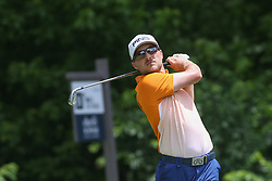May 25, 2019 - Fort Worth, TX, U.S. - FORT WORTH, TX - MAY 25: Austin Cook during the third round of the Charles Schwab Challenge on May 25, 2019 at Colonial Country Club in Fort Worth, TX. (Photo by George Walker/Icon Sportswire) (Credit Image: © George Walker/Icon SMI via ZUMA Press)