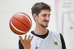22.07.2015, Telekom Dome, Bonn, GER, FIBA, Basketball EM, Deutschland, Training, im Bild Tibor Pleiss (Utah Jazz/USA) // during a Trainingssession of Team Germany in front of the Euro Basket 2015 Championships at the Telekom Dome in Bonn, Germany on 2015/07/22. EXPA Pictures © 2015, PhotoCredit: EXPA/ Eibner-Pressefoto/ Schueler<br /> <br /> *****ATTENTION - OUT of GER*****