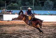 Old West Bronc Riding