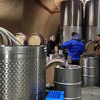 USA, California, Carmel. Wine caves Tasting Event at Holman Ranch.